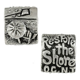 Restore the Shore OCEAN CITY Bead - Lone Palm Jewelry