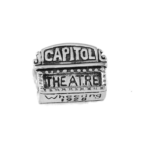WHEELING Capitol Theater Bead - Lone Palm Jewelry