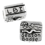 LBI (Long Beach Island) Season Beach Badge - Lone Palm Jewelry