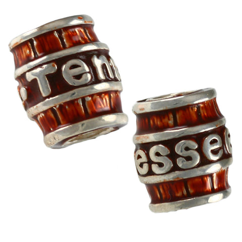 TENNESSEE Whisky Barrel Bead - Lone Palm Jewelry