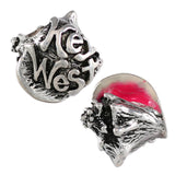 """Key West"" Pink Enameled Conch Bead - Lone Palm Jewelry"
