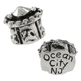 OCEAN CITY Sand Castle Bead II - Lone Palm Jewelry