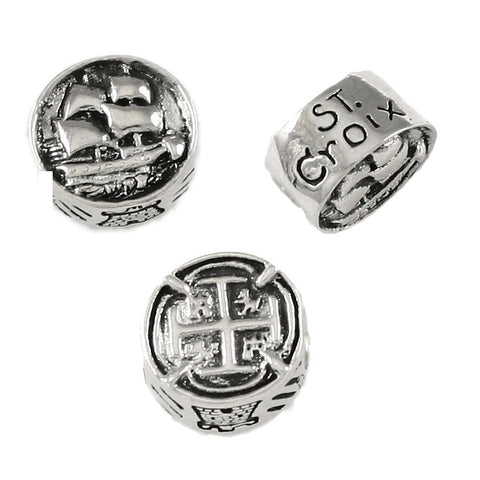 ST CROIX Pirate Ship Treasure Coin Bead - Lone Palm Jewelry