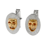 21123 Comedy and Tragedy Cuff Links