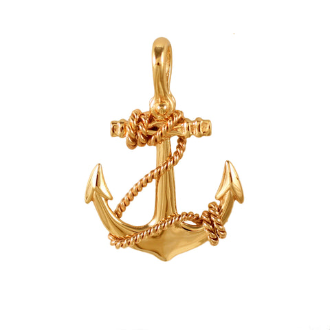 21143 - Fouled Anchor Pendant