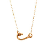 21153 - Petite Fish Hook Necklace