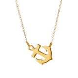 21176 - Petite Anchor Necklace