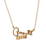 "21198 - Petite ""Key"" West Necklace"