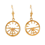30123 - Artificial Horizon Earrings