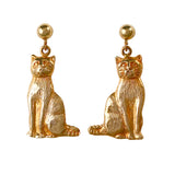 30179 - Dangling Cat Post Earrings