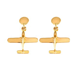 30180 - Low Wing Aircraft Earrings
