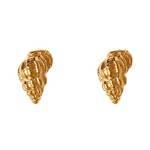 30202 - Vibex Shell Stud Earrings