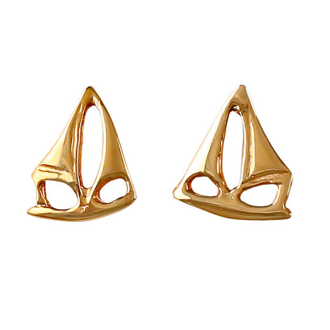 30206 - Sailboat Stud Earrings