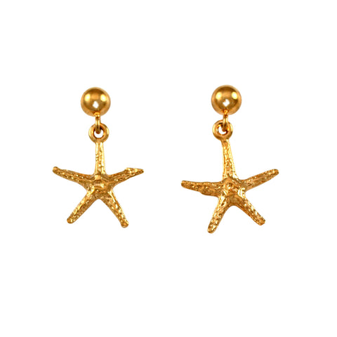 "30220 - 3/4"" Starfish Post Earrings - Lone Palm Jewelry"