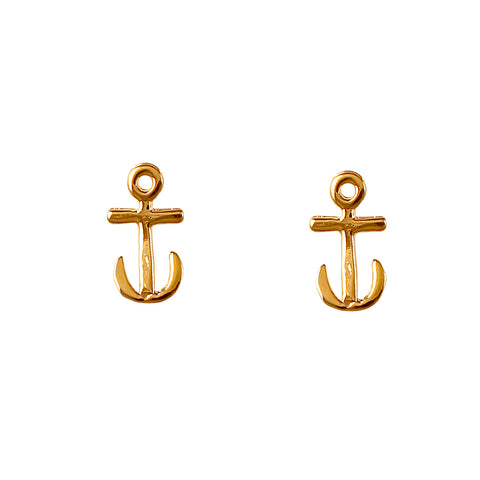 30225 - Anchor Stud Earrings
