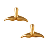 30245 - Whale Tail Post Earrings
