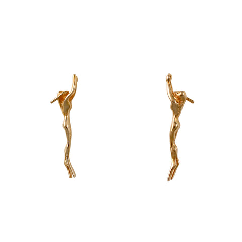 30251 - Female Snorkeler Post Earrings