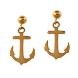 30260 - Dangling Anchor Post Earrings