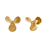 "30284 - 3/8"" Propeller Stud Earrings"