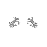 "30367 - 5/8"" Crab Stud Earrings"
