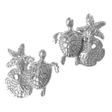 30732 - Turtle, Starfish, and Sand Dollar Earrings