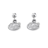 "30551 - 3/8"" Gator Head Post Drop Earrings - Lone Palm Jewelry"