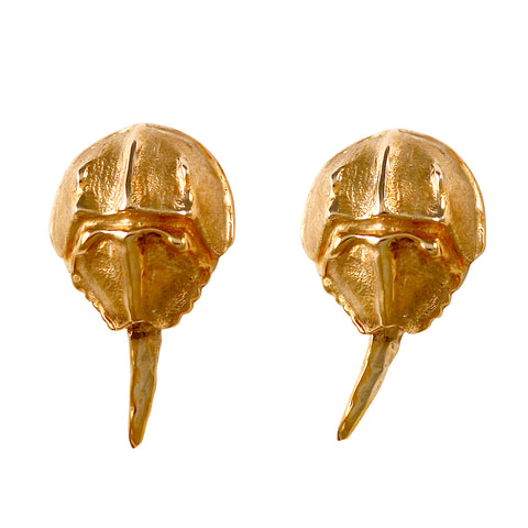 30587 - Horseshoe Crab Earrings with Moving Stingers