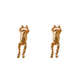 30808 - Jumping Frog Stud Earrings