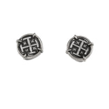 "1/2"" Replica Atocha Stud Earrings - Item #30823 - Lone Palm Jewelry"