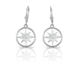 CAPE MAY Compass Rose Earrings - Lone Palm Jewelry