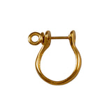 36132 - 18mm Shackle Earrings - 14k