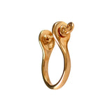 36133 - 22mm Shackle Earrings - 14k