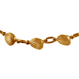 "40104 - 1/4"" Clam Shell Bracelet - Lone Palm Jewelry"
