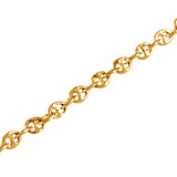 "3/16"" Bar Link Chain Bracelet - Lone Palm Jewelry"