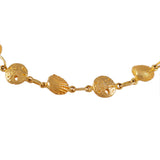 "40193 - 1/4"" Clam Shell & Sand Dollar Bracelet - Lone Palm Jewelry"