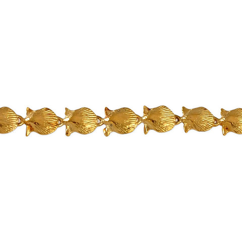 "40280 - 1/4"" Scallop Shell Bracelet - Lone Palm Jewelry"