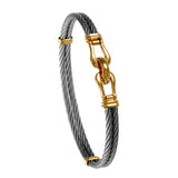 40403 - Double Shackle Cable Bracelet