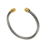 40432 - Bullet End Single Cable Bracelet