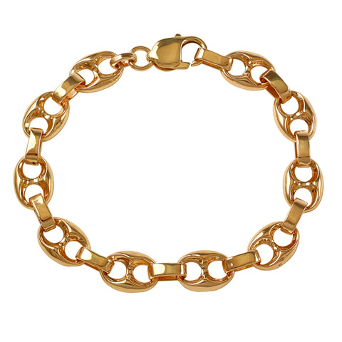 45004 - Gucci Chain Link Bracelet - SOLID Links
