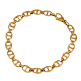 "1/4"" Flat Bar Link Bracelet - Lone Palm Jewelry"