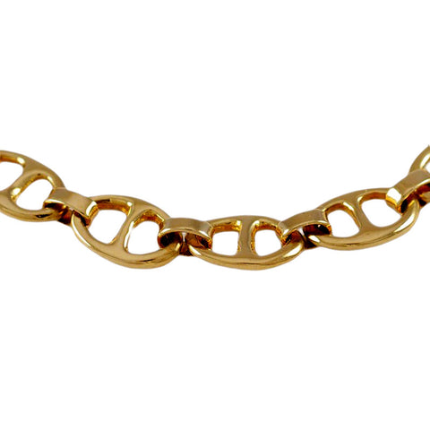 "45072 - 1/4"" Flat Bar Link Anchor Chain Bracelet - Lone Palm Jewelry"