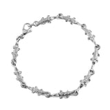 Linked Alligators Sterling Bracelet - Lone Palm Jewelry