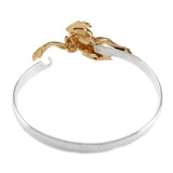 Frog with Enameling Hook Bracelet - Lone Palm Jewelry