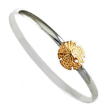 Sand Dollar Commodore Hook Bracelet - Lone Palm Jewelry