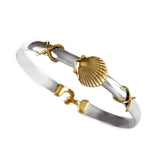 Scallop Hook Bracelet - Lone Palm Jewelry