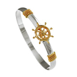 Ship's Wheel Hook Bracelet - Lone Palm Jewelry