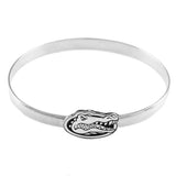 "46014A - 3/4"" Gator Head on 6mm Hook Bracelet - Lone Palm Jewelry"