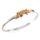 "46015A - 1 3/8"" Alligator Hook Bracelet"