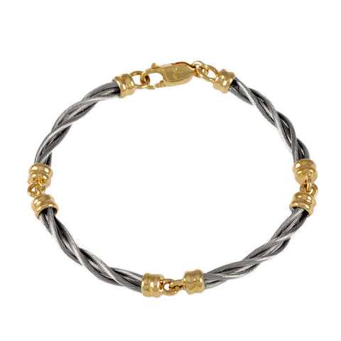 47003 - 4 Link New Twist Cable Bracelet