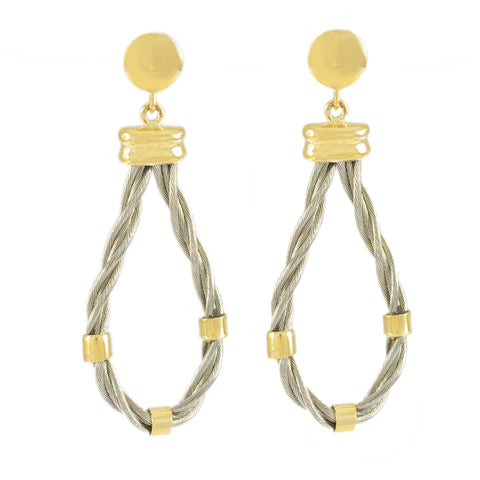 New Twist Drop Earrings - Lone Palm Jewelry